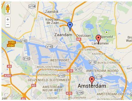 Relatics Google maps